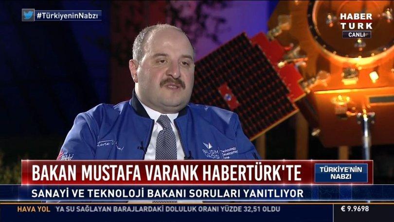 Son dakika... Sanayi ve Teknoloji Bakanı Mustafa Varank'tan önemli açıklamalar