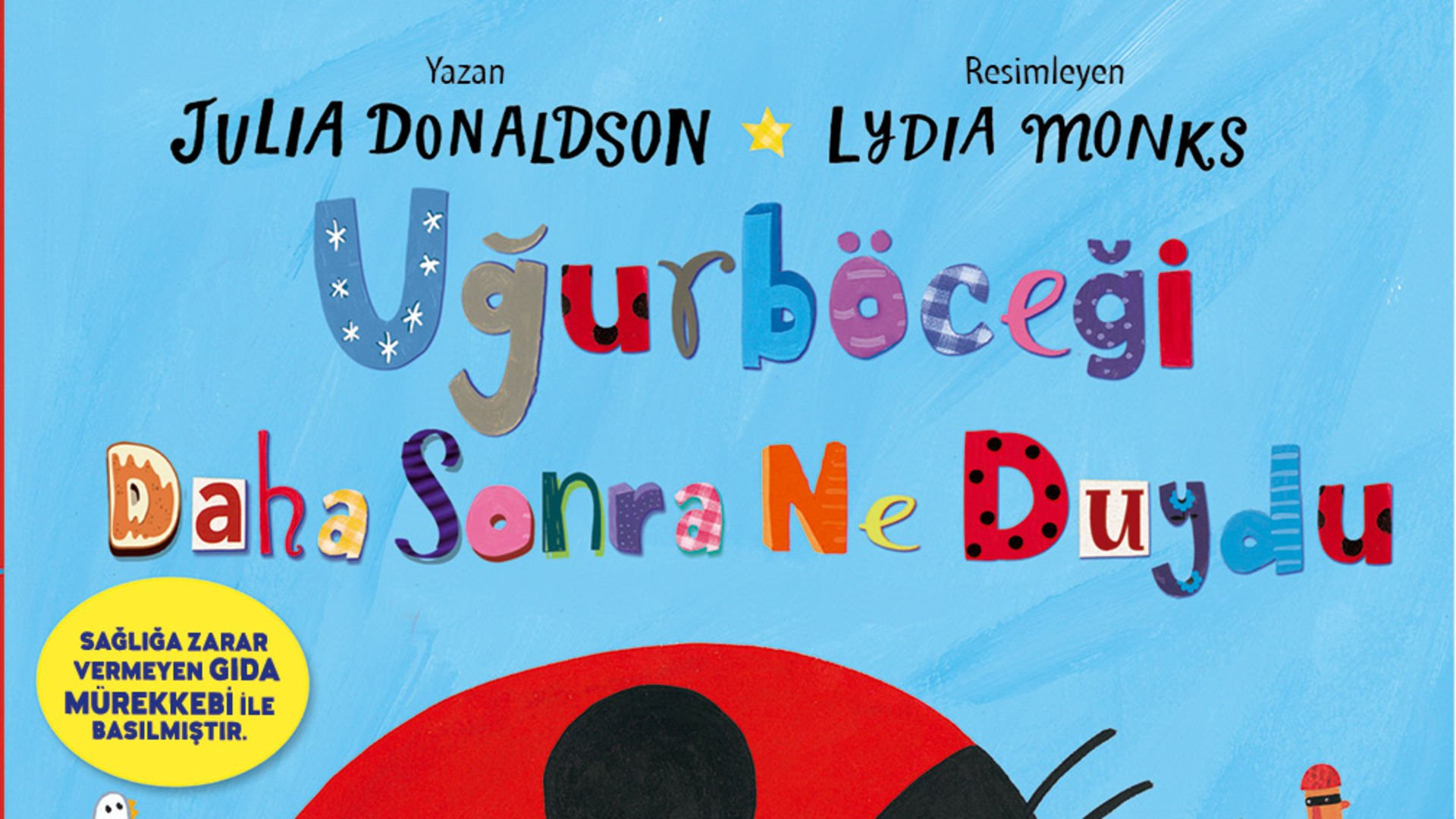Julia Donaldson'dan yeni kitap