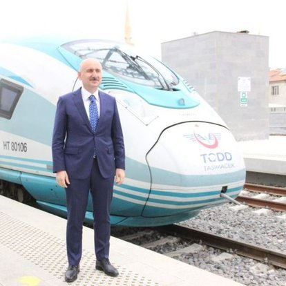 Konya-Karaman YHT Hattı'nda ilk test sürüşü