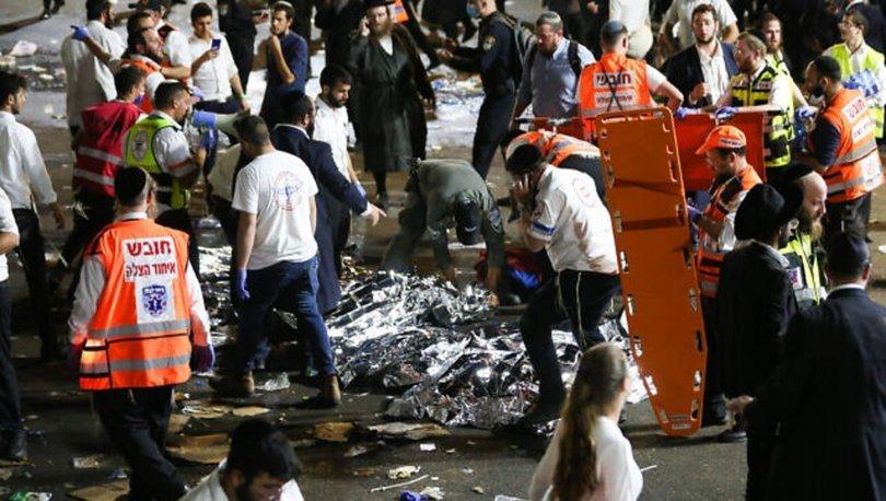 İSRAİL'DE DEHŞET! Son dakika: İsrail'de bayram kutlamalarında izdiham: Çok sayıda ölü var