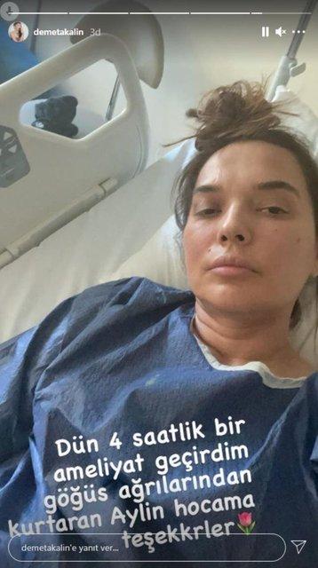 Demet Akalın ameliyat oldu - Magazin haberleri