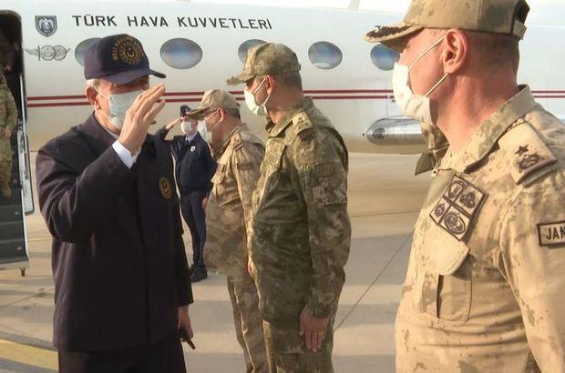 Milli Savunma Bakanı Akar, Şırnak'ta