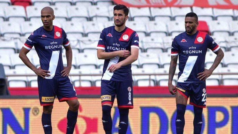 Antalyaspor sahasında galibiyete hasret kaldı