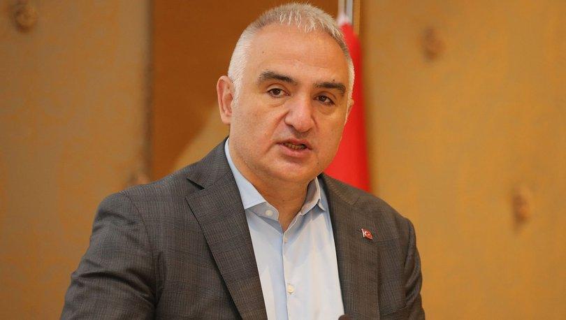 Bakan Ersoy: Vaka sayılarını 17 mayıs sonrası 5,000'in altına düşürebilirsek 30 milyon turist hedefimizi hala