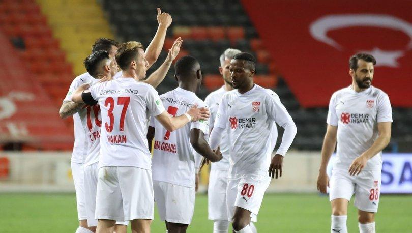 Sivasspor'un yenilmezlik serisi 16 maça çıktı