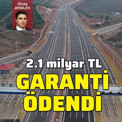 2.1 milyar TL garanti ödendi