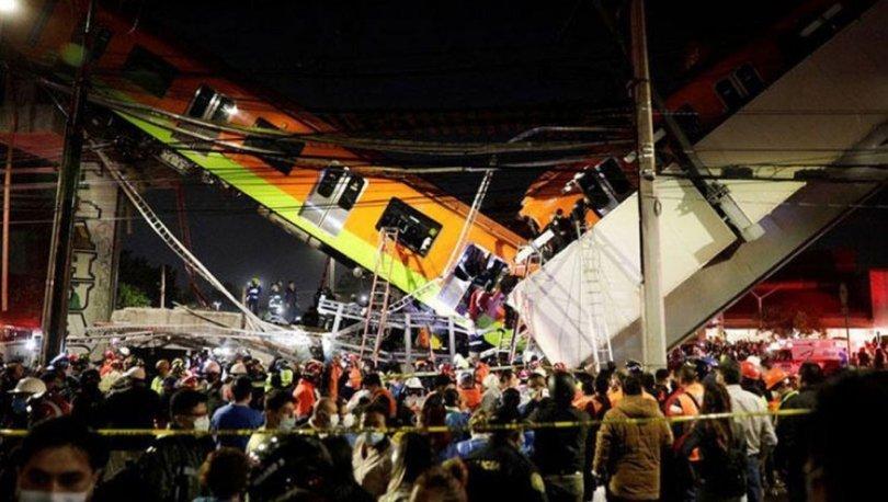 FACİA! Son dakika! Meksika'da tren faciası! En az 20 ölü 49 yaralı