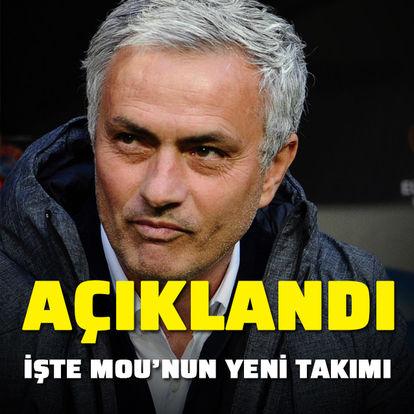 Ve Jose Mourinho açıklandı