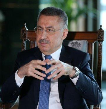 Cumhurbaşkanı Yardımcısı Fuat Oktay, Türk Patent ve Marka Kurumu Başkanı Habip Asan ile görüştü