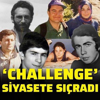 'Challenge' siyasete sıçradı
