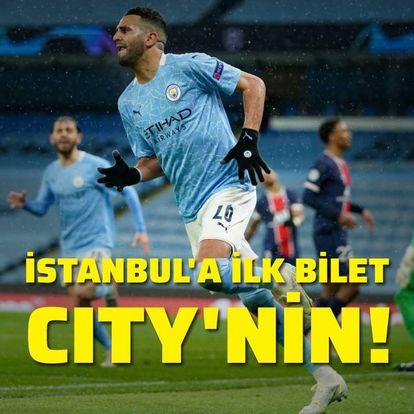 İstanbul'a ilk bilet City'nin!