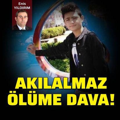 Erdinç'in akılalmaz ölümü!