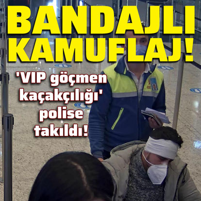 'VIP göçmen kaçakçılığı' polise takıldı!