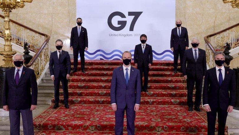 Son dakika! G7 Zirvesinde korona krizi! 2 Hindistanlı'da...