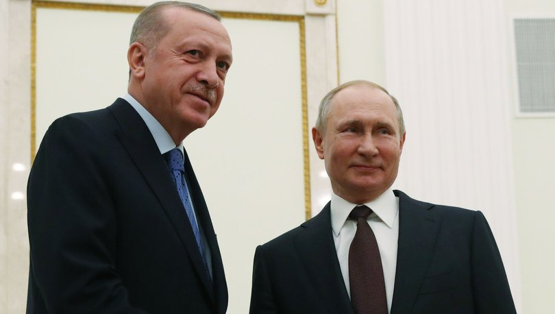 Son dakika haberi Cumhurbaşkanı Erdoğan ile Putin görüştü