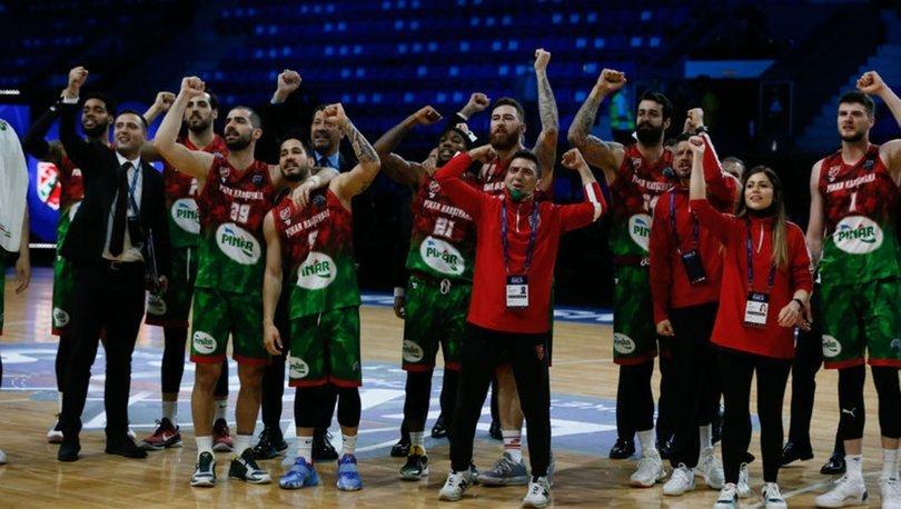 Pınar Karşıyaka, FIBA Şampiyonlar Ligi'nde son 4 takım arasına kaldı