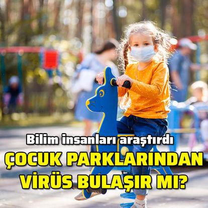 Çocuklar oyun bahçesinde virüs kapabilirler mi?