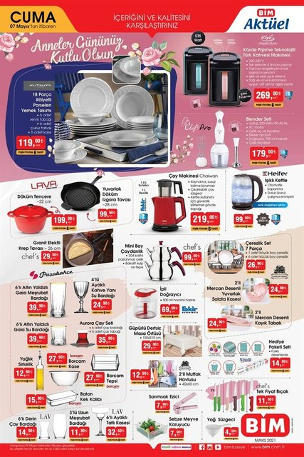 7 Mayıs BİM aktüel ürünler kataloğu çıktı! BİM'de bu hafta ne var? BİM indirimli ürünler listesi