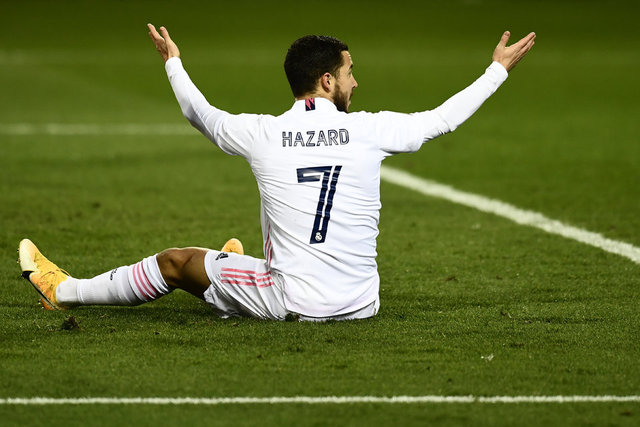 Yenilgi sonrası gülen Eden Hazard İspanya'nın gündemine oturdu!