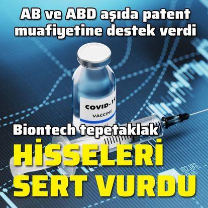ABD ve AB'den aşıda patent muafiyetine destek