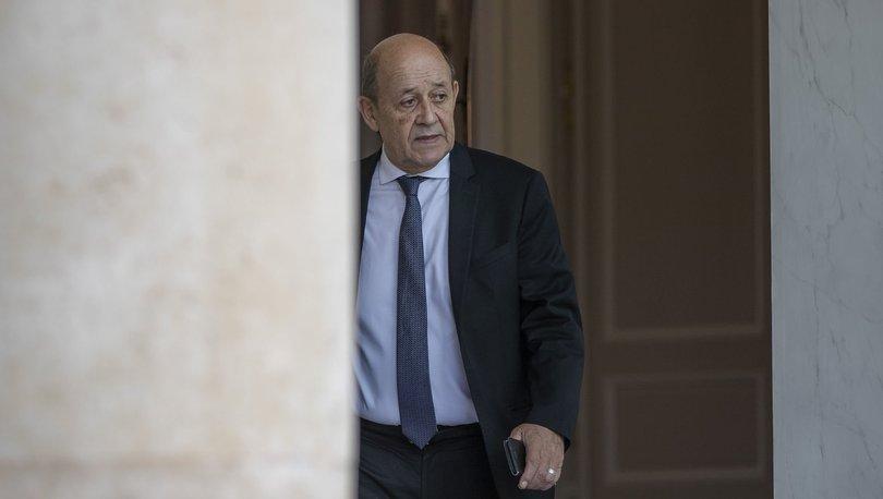 Fransa Dışişleri Bakanı Jean-Yves Le Drian'dan Lübnan'a gözdağı