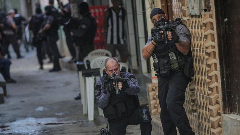 Brezilya'da uyuşturucu operasyonu sırasında çatışma: 25 kişi öldü