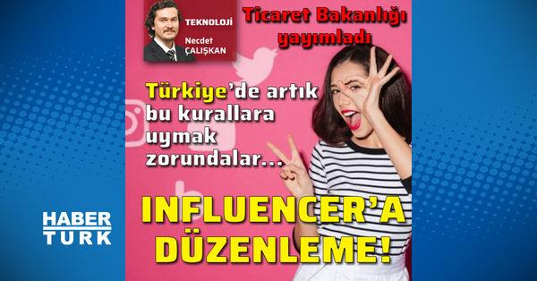 Bakanlık, 'influencer'lara el attı!
