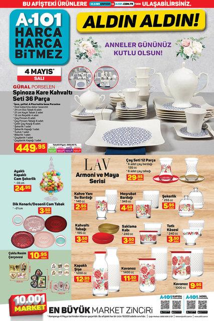 A101 BİM aktüel ürünler kataloğu! A101 BİM 4-11 Mayıs aktüel ürünleri! İşte tüm liste yayında