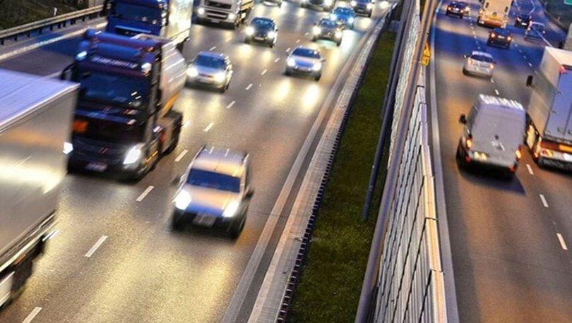 Motorlu kara taşıtları 2019'da 301.5 milyar kilometre yol kat etti