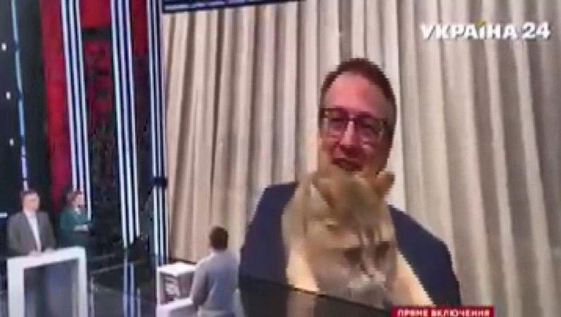 SON DAKİKA: Ukraynalı bakan yardımcısının canlı yayında kediyle imtihanı - Haberler