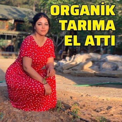 Organik tarıma el attı