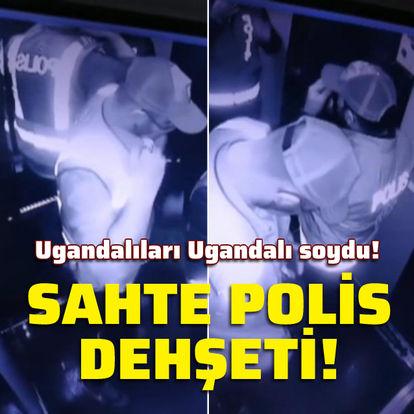 Ugandalıları Ugandalı soydu!