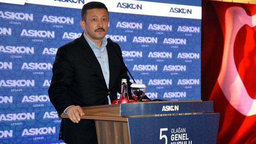 AK Partili Hamza Dağ: Maksat hasıl oldu