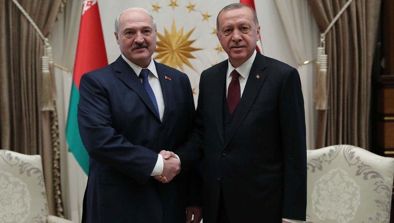 Son dakika haberi Cumhurbaşkanı Erdoğan, Lukaşenko ile görüştü