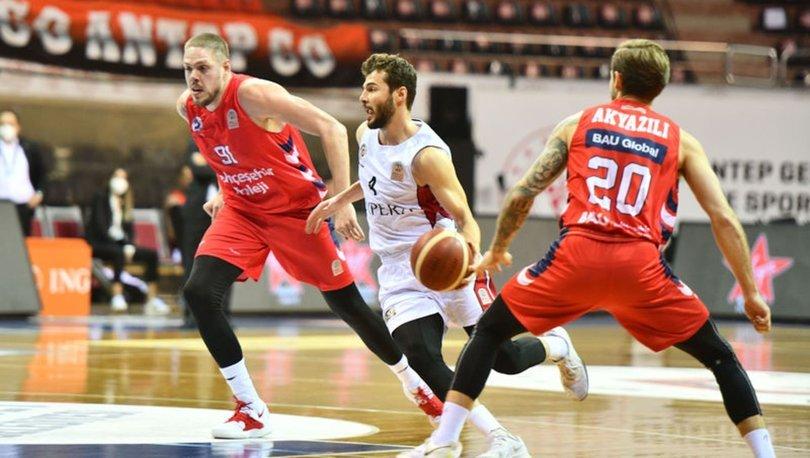 Empera Halı Gaziantep Basketbol: 88 - Bahçeşehir Koleji: 77
