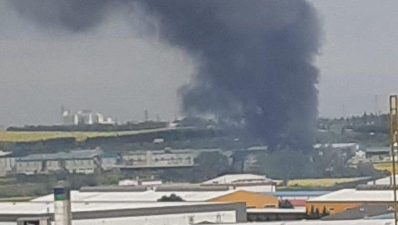 Son dakika: Silivri'de fabrika yangını! - Haberler