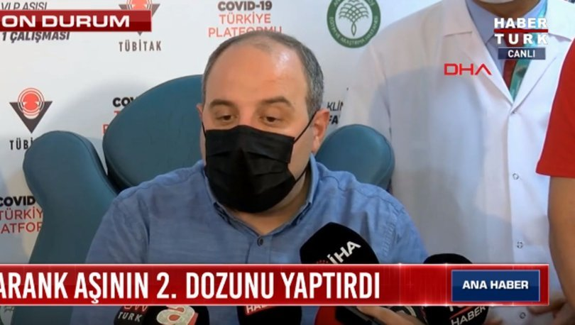 Sanayi ve Teknoloji Bakanı Mustafa Varank'tan yerli aşı açıklaması! Son dakika haberleri