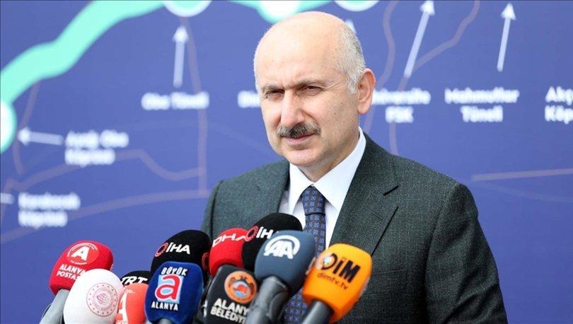 Ulaştırma ve Altyapı Bakanı Karaismailoğlu: Kanal İstanbul ile ilgili bizden bilgi isteyen ülkeler var