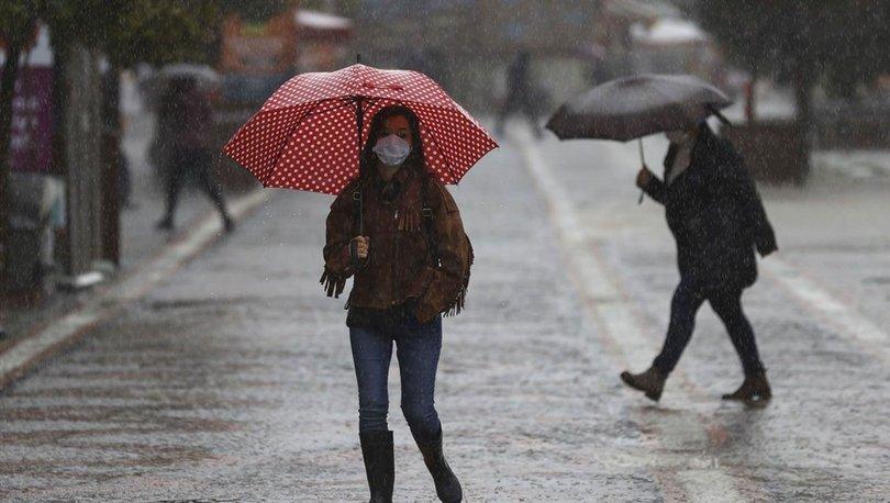 ŞİDDETLİ YAĞIŞ! Meteoroloji'den son dakika sağanak yağış uyarısı! 4 bölgede saat verdi! - Hava durumu