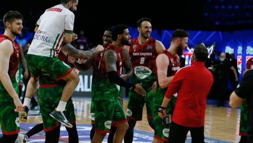Pınar Karşıyaka, erkekler basketbolda Türk takımlarının Avrupa'daki 14. finaline çıkacak