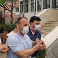 Bakırköy'de Halk Ekmek büfesini yakan şüpheli kamerada