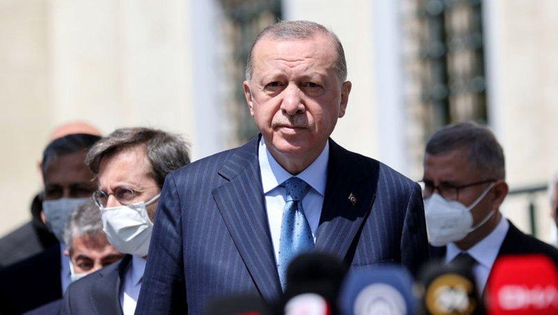 Son dakika... Cumurbaşkanı Recep Tayyip Erdoğan'dan İsrail'e Mescid-i Aksa tepkisi...
