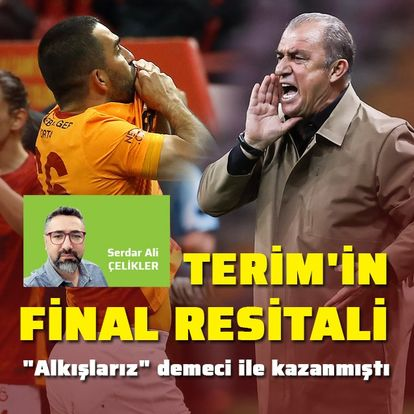 """Terim'in final resitali"""