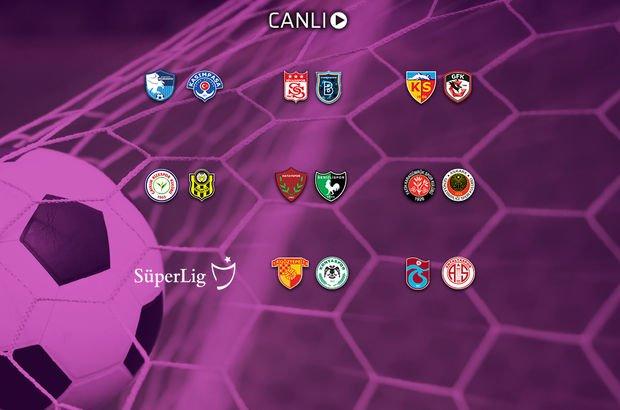 Süper Lig'de 40. hafta maç sonuçları ne oldu?