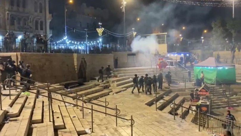 SON DAKİKA! İsrail polisi Doğu Kudüs'te yine müdahale etti!
