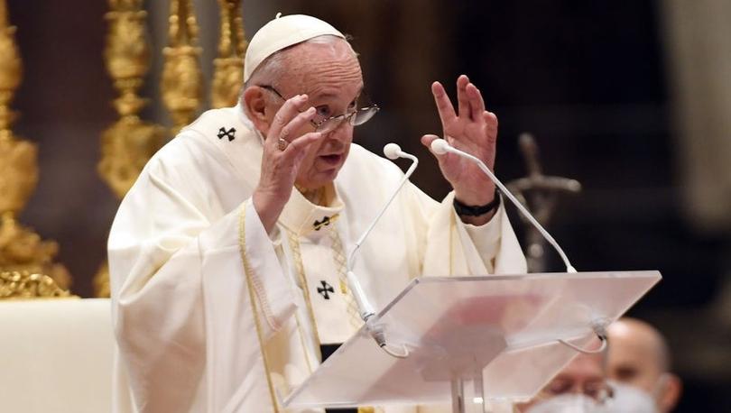 Papa, Covid aşılarının patentinden feragat edilmesini istedi: 'Bireycilik terk edilmeli'