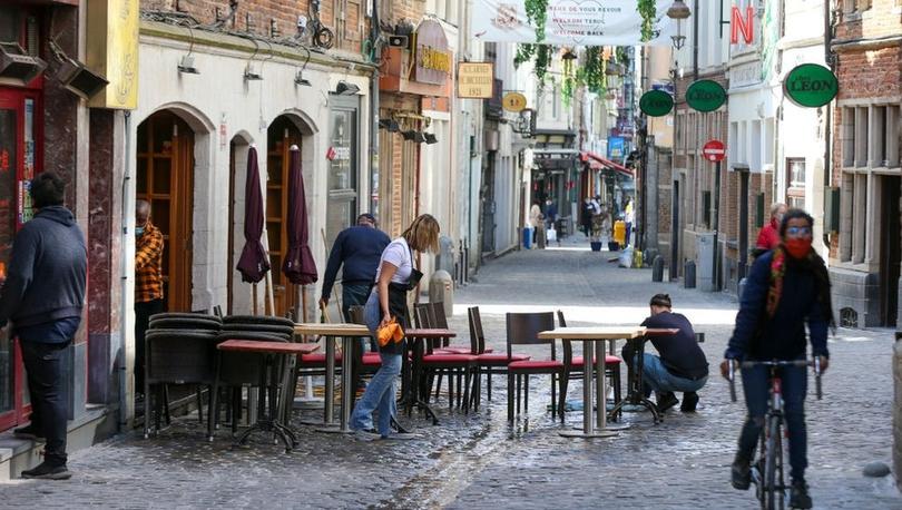 Covid: Belçika'da 7 aydır uygulanan sokağa çıkma kısıtlamaları sona erdi