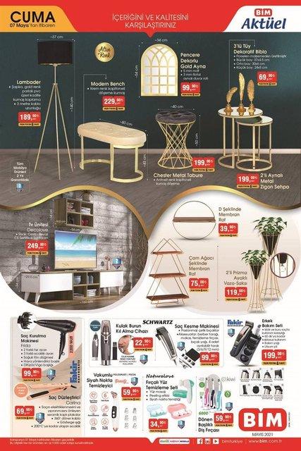7 Mayıs BİM aktüel ürünler kataloğu satışta! BİM'de haftanın indirimli ürünler listesi