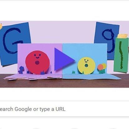Google'dan Anneler Günü Doodle'ı! Google'dan annelere sürpriz! Anneler Günü kutlu olsun!