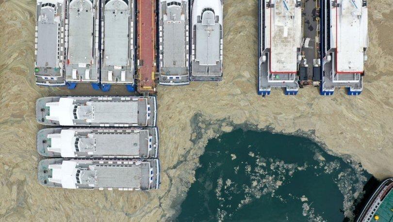 DİBİNE KADAR! Son dakika: Marmara Denizi'nde salya! Her yeri kaplıyor